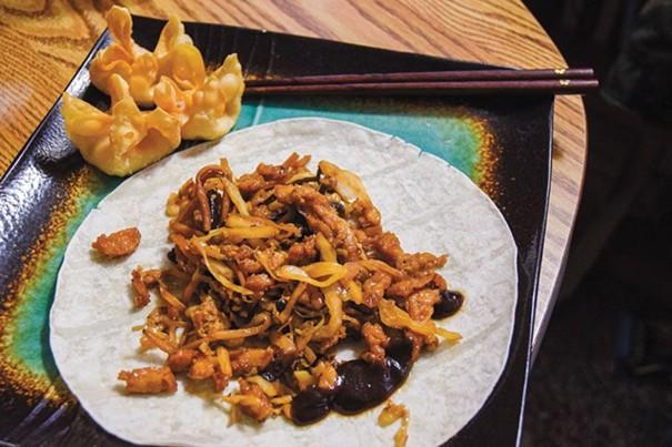 moo shu chicken and comfort food at china village